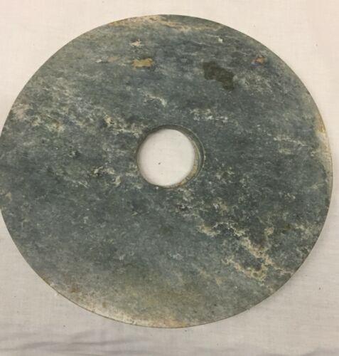 Archaic Jade Bi.  Probably Liang zhu.