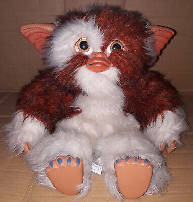 "Vintage 1985 Warner Bros Quiron GIZMO Gremlins Plush Toy 16"" Action Figure Spain"
