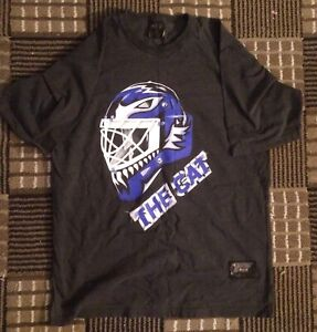 Greg Harrison The Cat Leafs Goalie Mask T-Shirt