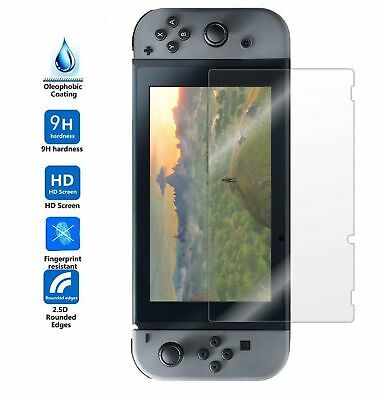 2PCS Nintendo Switch Ultra Clear Film Premium Tempered Glass Screen Protector