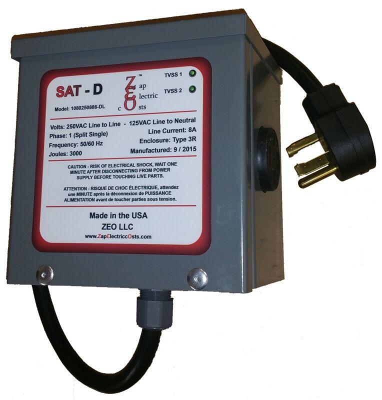Whole House Energy Savings Power Factor Saver Kvar Unit 1400 with TVSS - 4 Prong