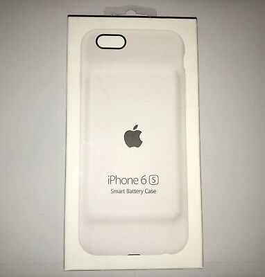 """OEM Apple Active Battery Case For iPhone 6 & 6S (4.7"""") White MGQM2LL/A NEW"""