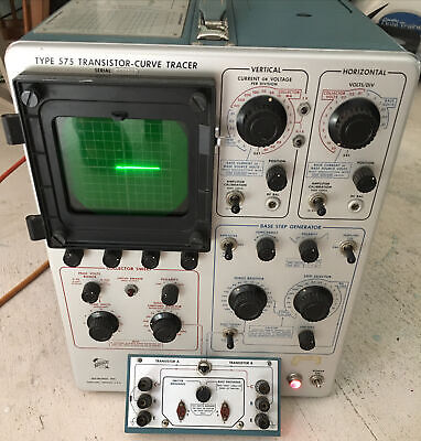Tektronix Type 575 Transistor-curve Tracer - Tested