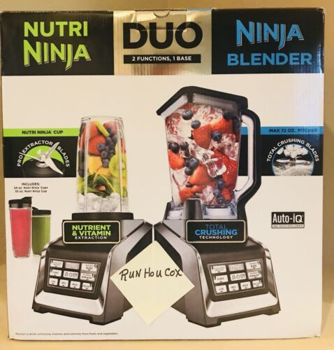 Nutri Ninja Personal and Countertop Blender with 1200-Watt A