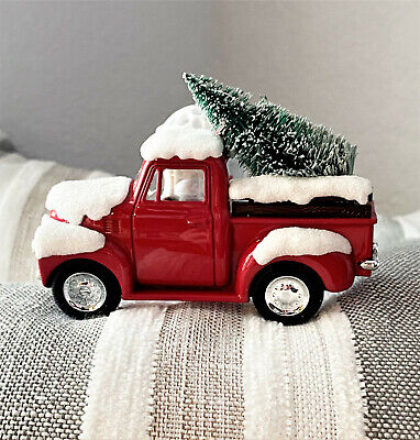 NEW BATH and BODY WORKS Little Red Truck with Christmas Tree Wallflower Plug-In