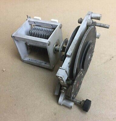 Rf Radio Freq Hi Power Variable Air Capacitor 14-82pf With Multi-turn Ratio