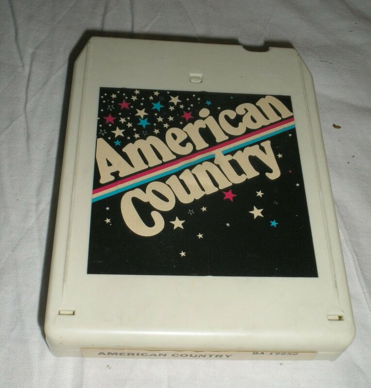 American Country - 8 Eight Track Tape