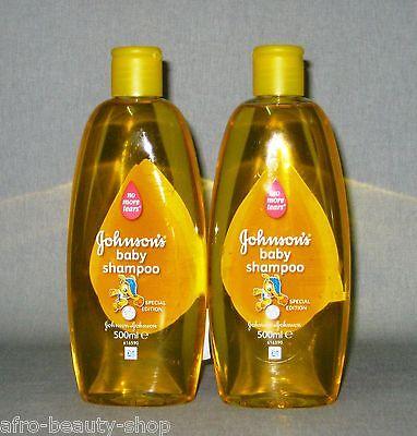 2 x JOHNSON`s - Baby Shampoo - mild - 1.000 ml