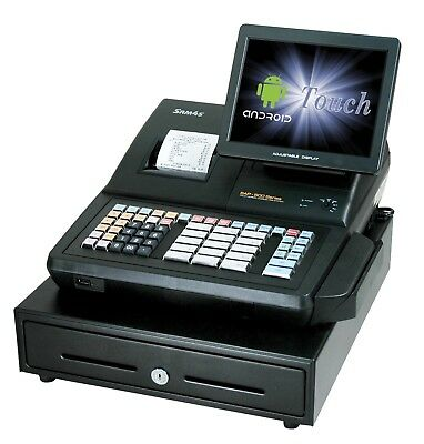 """SAM4s SAP-630RT ANDROID 10"""" T-Screen POS Cash Register Syste"""