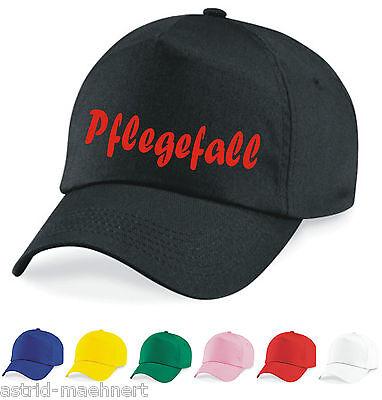 Base Cap - Mütze - Pflegefall - verschiedene Farben - Kappe -Neu