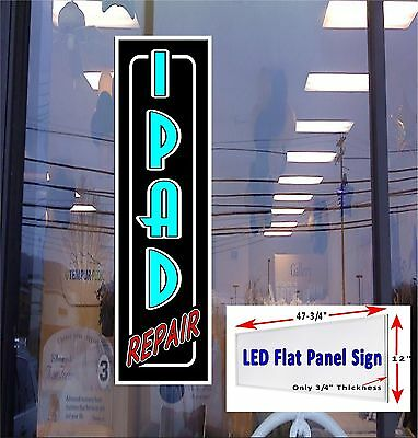 Led Sign I Pad Repair Window Sign 48x12 Neon Banner Alternative New Led Design
