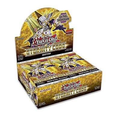 Eternity Code 1st Edition Booster Box FACTORY SEALED YuGiOh English PRESALE 6/8