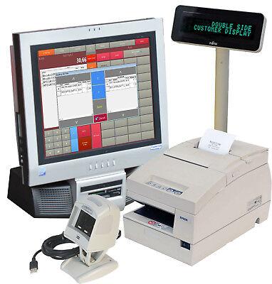Till Register System F Retail Imbis 17 16 78in Touchscreen Receipt Printer