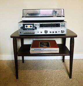 Mid Century Stereo/Record Table