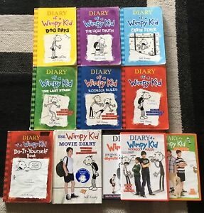 Diary of a Wimpy Kid Books and DVD