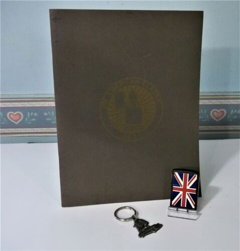 Zippo Lighter Prototype Union Jack, Rare Zippo Employee Anniversary Booklet