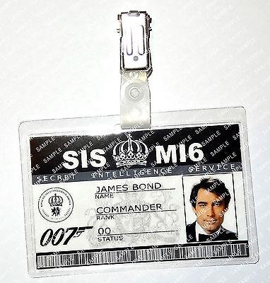 James Bond 007 Timothy Dalton Cosplay Costume Fancy Dress Comic Con Halloween