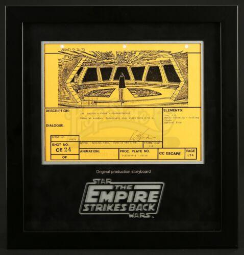Star Wars—Ep V—ESB Signed Production Storyboard—Vader in Star Destroyer (E21)