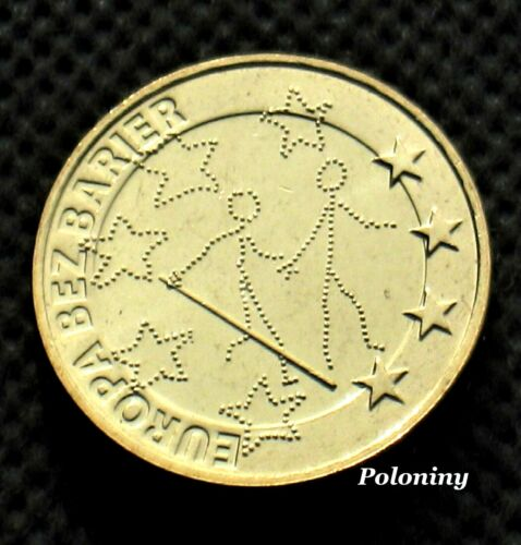COMMEMORATIVE COIN OF POLAND - 100th ANNIVERSARY EUROPE WITHOUT BARRIERS (MINT)