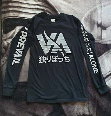 Official I Prevail 'Alone' Longsleeve Top (Small)