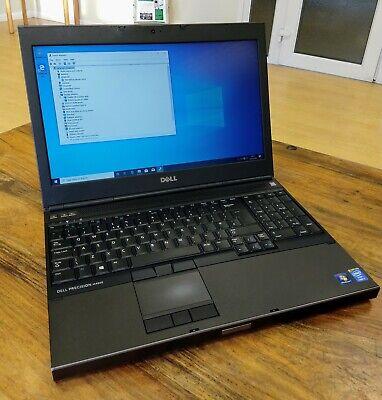"""Dell Precision M4800 i7 4700MQ 2.4Ghz 16GB, NEW 256GB SSD Win 10 15.6"""" SCRN HDMI"""