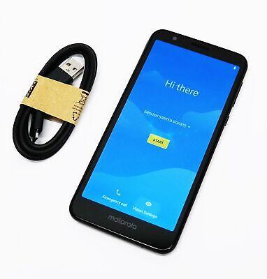 Motorola Moto E6 XT2005-5 16GB (Unlocked) Smartphone - Starry Black