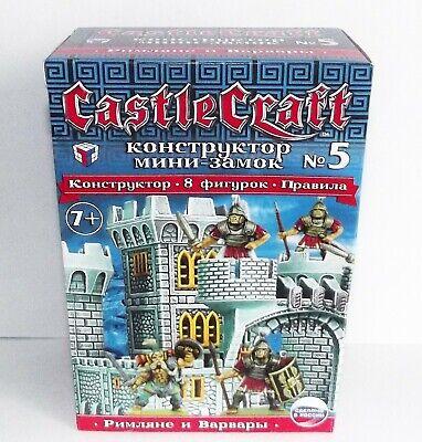 s. Castle Craft. Mini set #5. Romans VS Barbarians. 28 mm (Castle Craft)