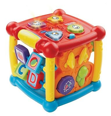 VTech Busy Learners Activity Cube Best Toy Gift For Kids, (Best Activity Cube For Baby)