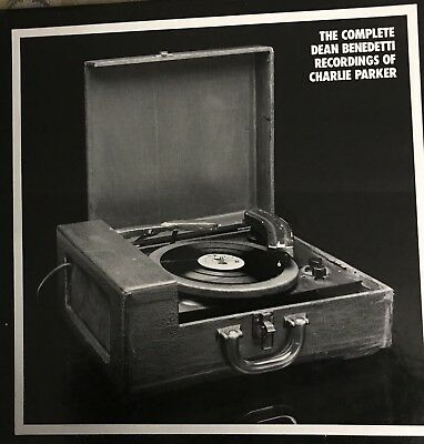 CHARLIE PARKER: 10 LP Mosaic Box Set! The Dean Benedetti Unreduced Recordings