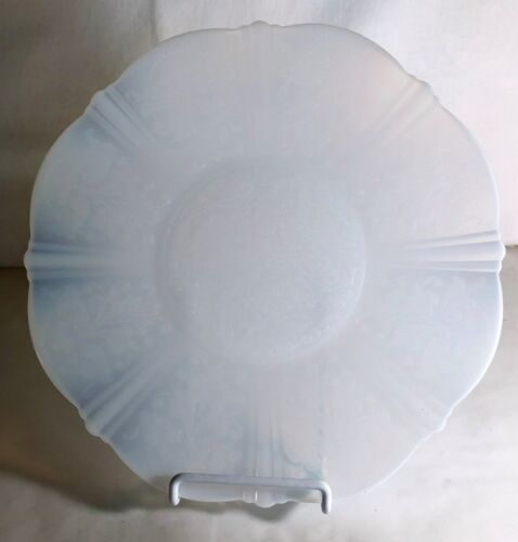 """MacBeth Evans Monax American Sweetheart 10 3/4"""" Chop Plate"""