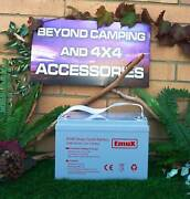 EmuX Deepcycle AGM 135AH Battery 12V Willetton Canning Area Preview