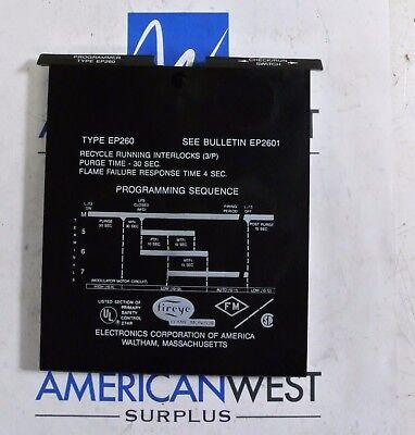 Ep260 Fireye Programmer For Flame Monitor