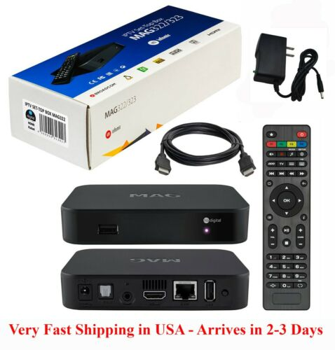 Mag 322w1 w/ built-In Wi-Fi & HDMI cable w/ Arrival in 2-3 days - FREE shipping!