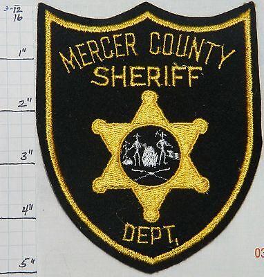 WEST VIRGINIA, MERCER COUNTY SHERIFF DEPT FELT PATCH
