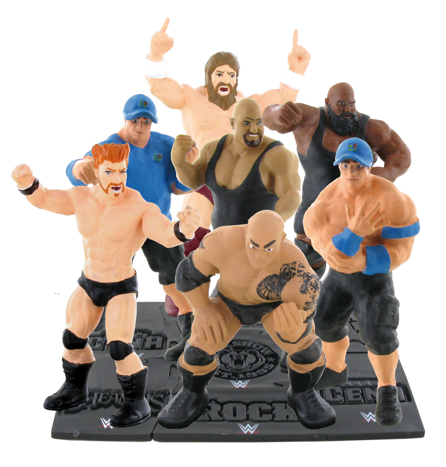 Wwe Wrestling Cake Toppers