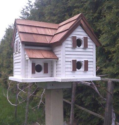 Martin Bird House Cottage Martin Amish handmade Large Birdhouse reclaimed wood