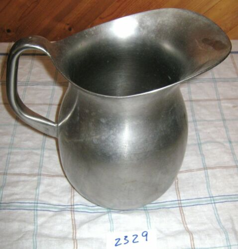 Vintage VOLLRATH Stainless Steel US Military Hospital Pitcher (#14)