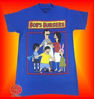 Bob's Burgers Shirt (New Bob's Burgers Cast Cartoon Fox Graphic Mens)