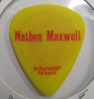 FLOGGING MOLLY Nathan Maxwell Guitar Pick
