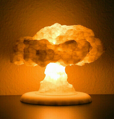 The Nuke Lamp Light / Atomic Lamp / Nuclear Explosion Mushroom Cloud 3D Printed
