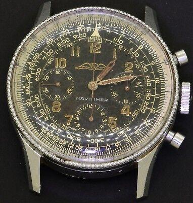 Breitling Navitimer 806 SS 40mm chronograph mechanical men's watch