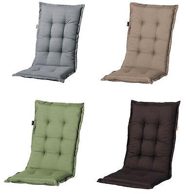 Luxus Gartenmöbel Hochlehner Sessel Auflagen Polster Kissen 8 cm Gartenstuhl