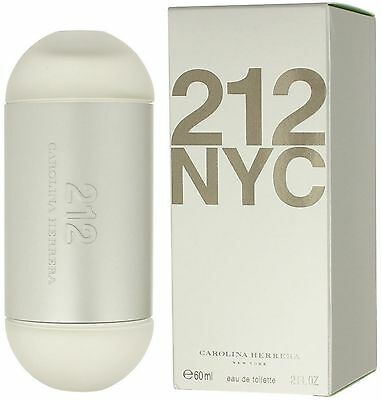 212 Nyc By Carolina Herrera Eau De Toilette Spray For Women 2 Oz