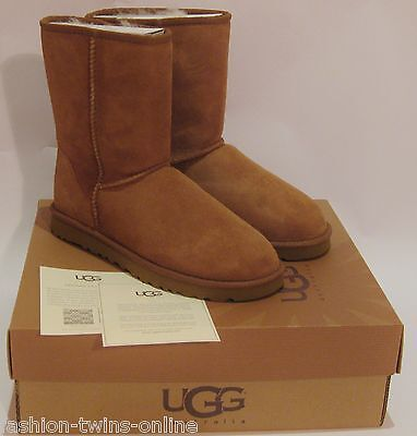 UGG Australia Stiefel Classic Short boots 5825 W/CHE - Chestnut - 37 / US 6 NEW