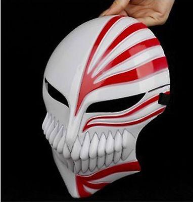 1 Pair Bleach Ichigo Kurosaki Bankai Hollow Mask Unisex Halloween Cosplay Prop