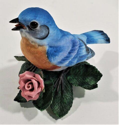 Lenox Eastern Bluebird Garden Bird Collection Fine Porcelain COA