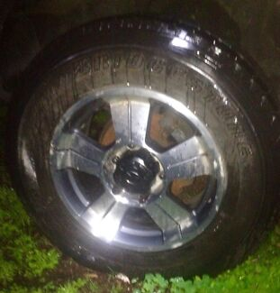 ALLOY MAG RIMS N TYRES 265/65/R17 Hazelmere Swan Area Preview