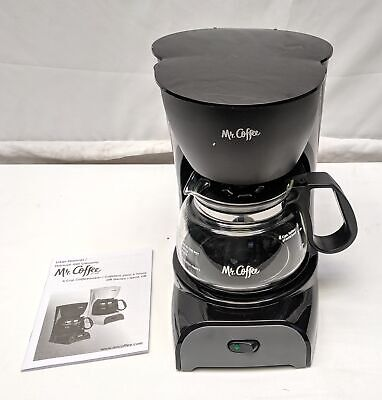 Mr. Coffee Simple Brew Coffee Maker, 4 Cup Drip Coffee Machine - $28.97