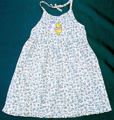 NEU! Disney Winnie the Pooh Sommerkleid Kleid Trägerrock Neckholder Gr. 74 ()