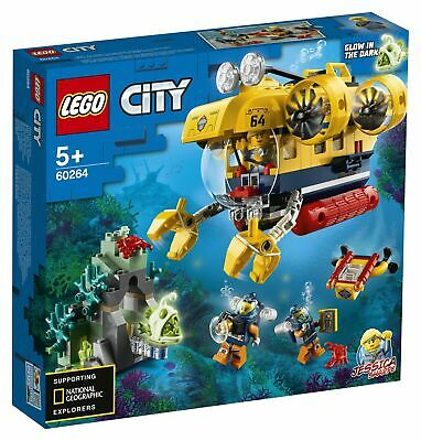 LEGO City Sottomarino da esplorazione oceanica - 60264
